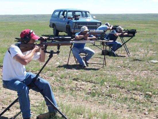 Prairie Dog Shooting in Montana