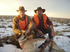 A antelope buck taken in 2009