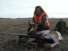 Patti's long range antelope - 738 yds
