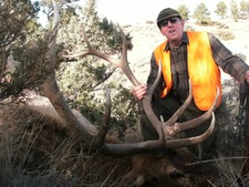 Dick shot this nice Bull with Redbone Outfitting