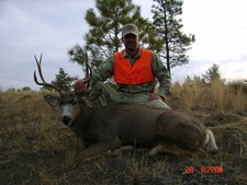 Mule deer hunting in Montana with Redbone Outfitting is a great experience.
