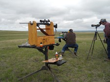 Prairie dog hunting with long range rifles is a great experience.