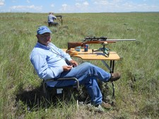 Unwind and relax for a few days prairie dog hunting with Redbone Outfitting.