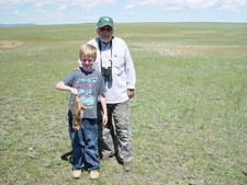 Prairie dog hunting is great for young people to learn how to handle and shoot a gun with an experienced guide.