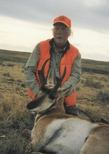 A antelope buck shot by a client in 2009.