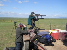Prairie dog shooting is a great family sport. Young people can learn to handle and shoot a gun with an experienced guide from Redbone Outfitting.